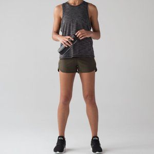 """lululemon Shorts - EUC, Lululemon Speed Up Short Dark Olive, 2.5"""", 6"""